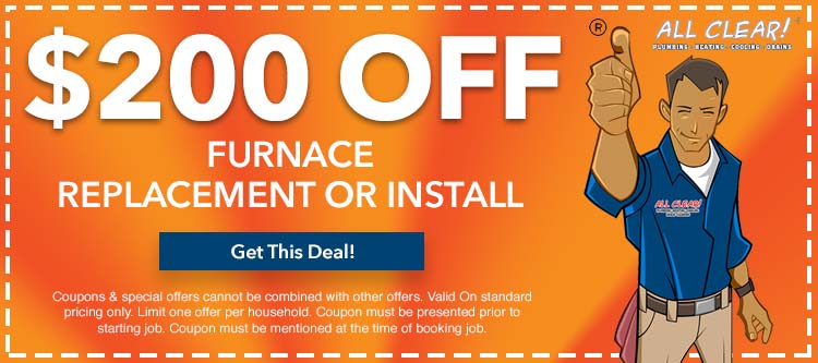 discount on furnace replacement or installation in Essex County, NJ
