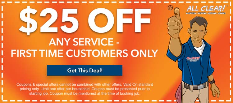 discount on any service for first time customers in Nutley, NJ