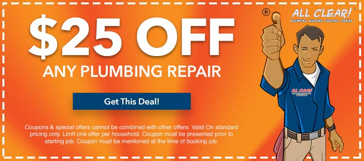 discount on any plumbing repair service in Essex County, NJ