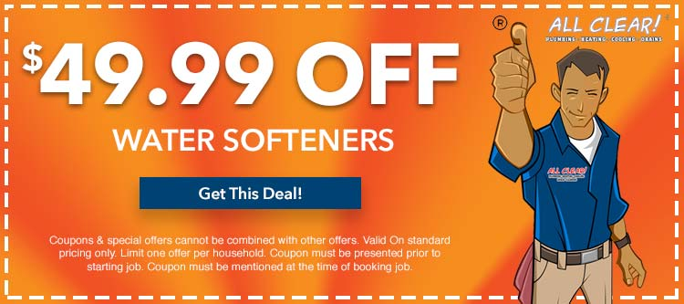 discount on water softeners in Essex County, NJ